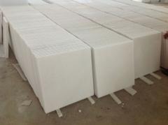 White marble slabs 60x60x2cm tile