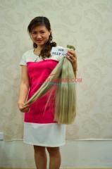 Best price unprocessed hair natural  raw vietnam hair