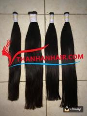 High quality straight bulk hair 100% raw hair