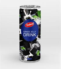 Fruits health benefits Grass Jelly 250ml Slim Canned