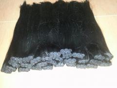 Natural weft hair 100% virgin hair