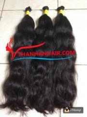 Body wavy Vietnamese bulk hair in Vietnam for