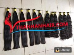 Real Wholesale Supplier Virgin Bulk Hair Top Vietnamese Human Hair