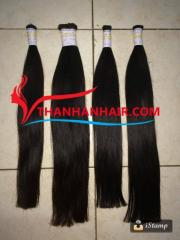 natural bulk in hair extensions for stylish hair