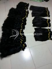 Free bulk hair packs Vietnamese darling human hair bulk