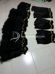 Free bulk hair packs Vietnamese darling human hair bulk