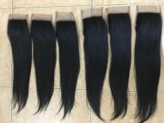 Lace closure soft and silk straight