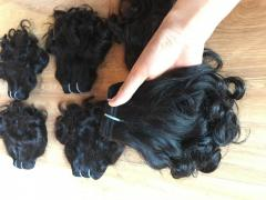 Selling wavy hair soft hair extension