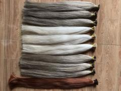 Best quality soft colored hair