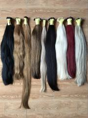 Utip straight sof color human hair