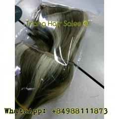 Standard Double Drawn Remy Weft Hair No Tangles No Shedding Bulk Hair Wholesale Price Gold Supplier