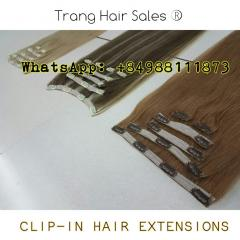 Full-head Set Clip-in Hair Extensions Wholesale Price Top Gold Supplier
