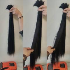 Bulk Virgin Remy Human Hair Top Best Quality Wholesale Price No Tangles No Shedding Gold Supplier