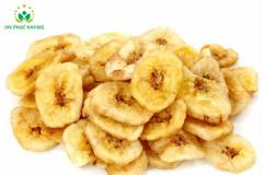 Crispy Vacuum Fried Banana Slice Cut