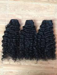 Soft wavy hair good quality color human hair