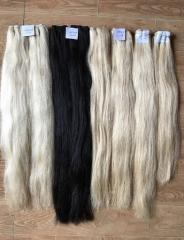 Selling best quality 2017/ beautiful color hair 100% soft human hair