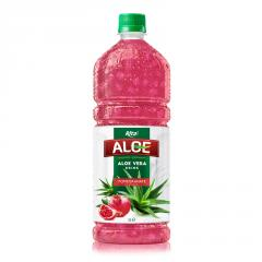 Aloe Vera With Fresh Fruit Pomegranate from  Beverage Suppliers Manufacturers