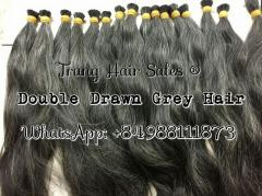 Double Gray Hair Wholesale Price Top Best Quality Supplier