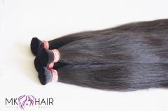 HAIR BULK (DOUBLE DRAWN) NATURAL COLOR 60CM