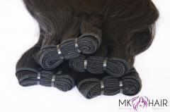 HAIR WEFT DOUBLE DRAWN (60CM) NATURAL COLOR