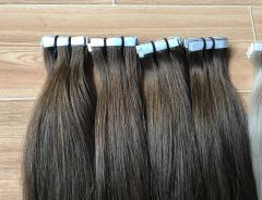 Tape color hair soft human hair