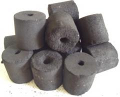 Coconut shell charcoal briquette for BBQ