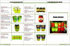 A chau foods list canned products