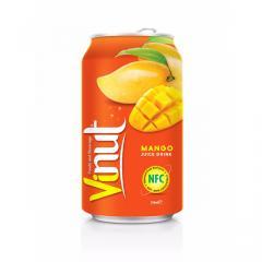 330ml Canned Fruit Juice Mango Juice Drink Manufacturer