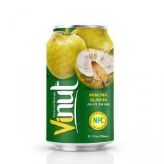 Консервированный сок напиток 330мл аннона гладкая