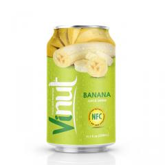330ml Canned Banana juice drink
