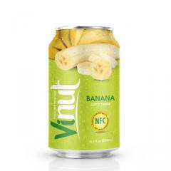 Консервированный сок банановый напиток 330мл