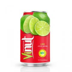 330ml Canned Lime juice drink