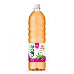 1,5L Bottle Aloe Vera Drink Premium Peach flavor