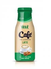 Manufacturer Coffee Latte Glass bottle 280ml