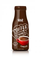280ml Glass Bottle Espresso coffee from Vietnam