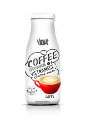 280ml Glass Bottle Latte coffee from Vietnam
