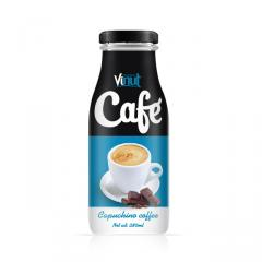 280ml café Capuchino engarrafado
