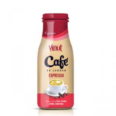 Manufacturer Coffee Espresso Glass bottle 280ml