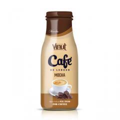 Manufacturer Coffee Mocha Glass bottle 280ml