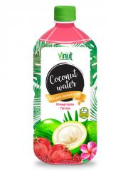 Botella de Pet de 1L agua de coco puro Natural