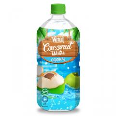 1 L botellas de PET Original brillante agua de coco