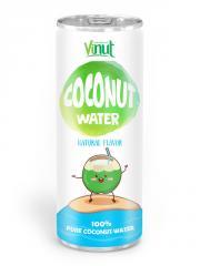 250ml Aluminium can Natural Coconut water