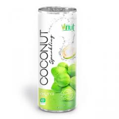 250ml Canned Premium Quality Coconut Sparkling Water Original