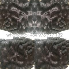22 inches curly weft hair extensions high quality