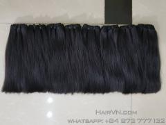 Vietnamese straight weft human hair extensions 20 inches