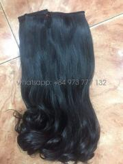 Vietnam straight weft in human hair extensions 20 inches