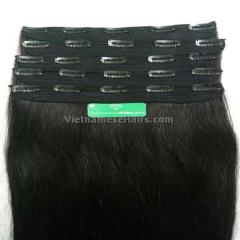 10 inches clip in human hair extensions from Fullest hair