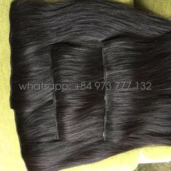 Top selling Clip in hair extension from Vietnamese Remy hair