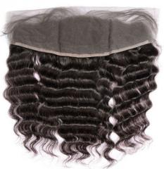 22 inches kinky curly lace frontal closure hair no shedding