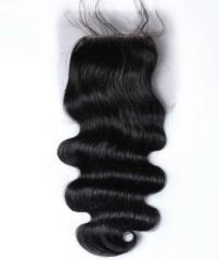 Body Wavy Lace Closure Hair Extensions 4×4 inches